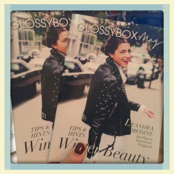 The GlossyBox magazine, squared.