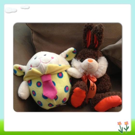 Choco-Bunny made a friend- meet Sir Sheepie!