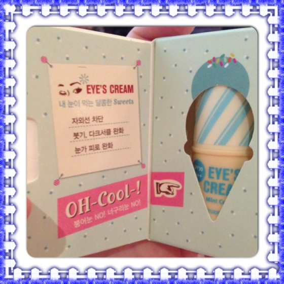 I scream for Eye's Cream1 ($8.80 US)