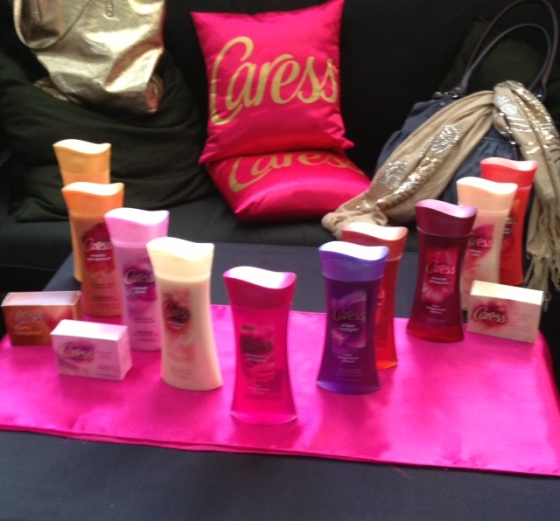 The many fine fragrances of Caress.
