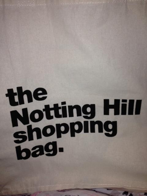 Portobello Market is in Notting Hill, I think!
