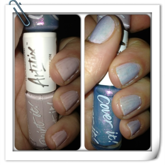 Left is only Utopia and the right is Utopia with Indian Ocean topcoat